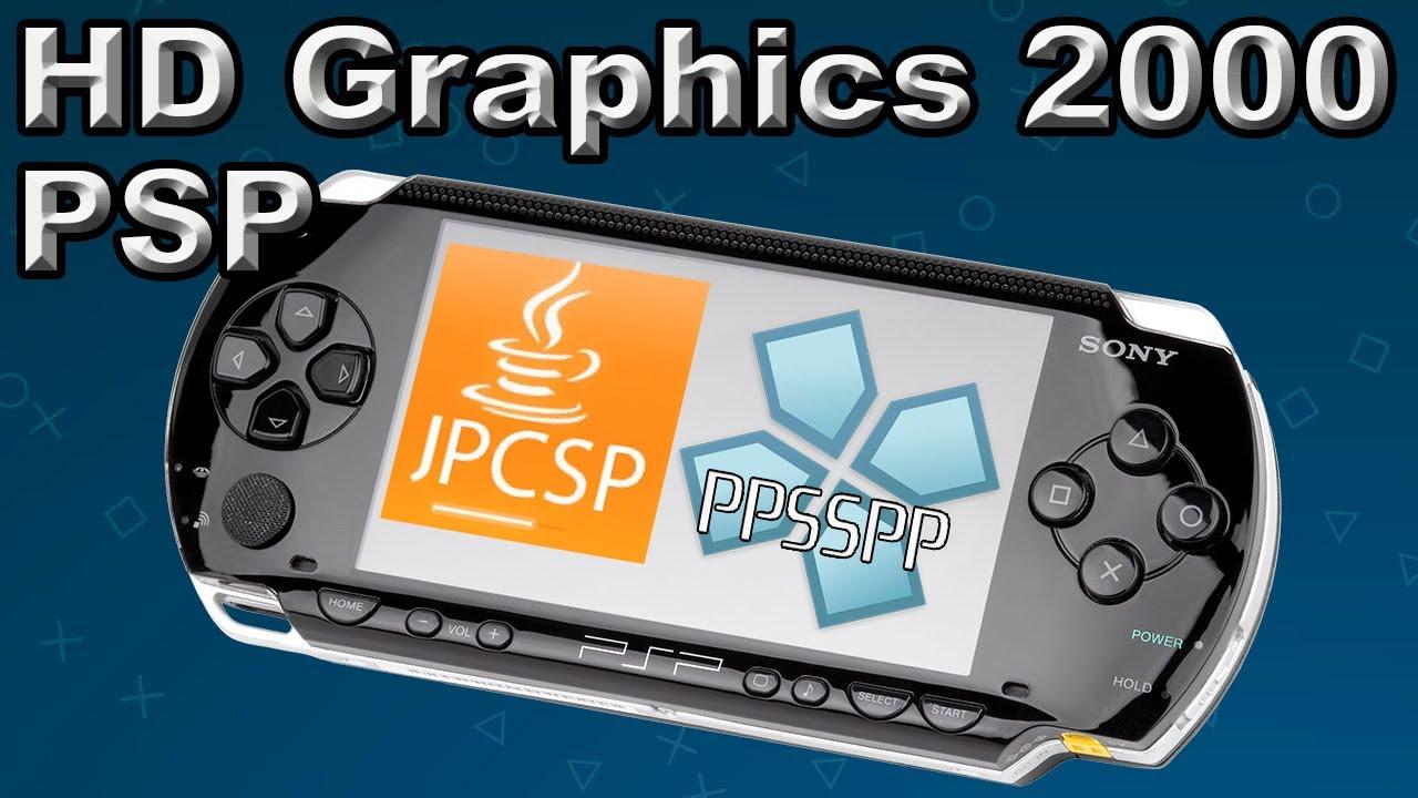 jpcsp y PPSSPP en Intel HD Graphics 2000 - YouTube