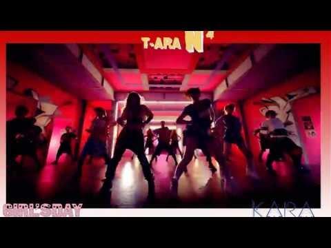 T-ara N4 vs. Girls Day vs. Kara ( Jeon Won Diary-Expectation-Pandora )