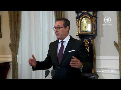 Heinz Christian Strache - FPÖ Vizekanzler - Antisemitismus - Das Erste