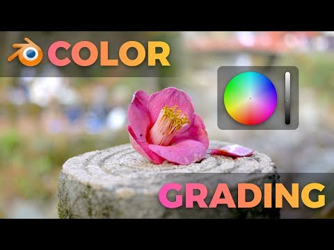 Color Grading with the Blender VSE (tutorial)