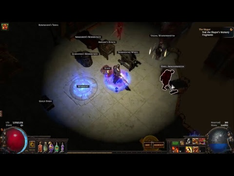 PATH OF EXILE - FILLING OUT THE ATLAS. LETS PARTY TOGETHER!!