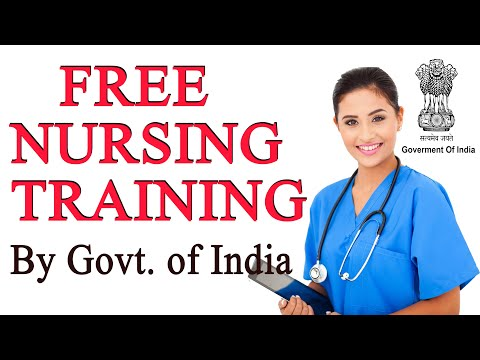 Free Nursing Training // Free General Duty Assistant admission by government of india 2020