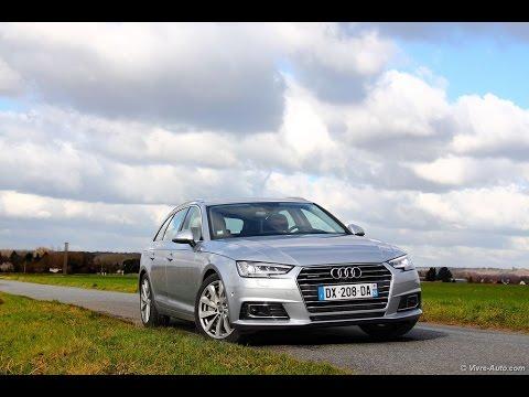 Essai Audi A4 Avant (2016)