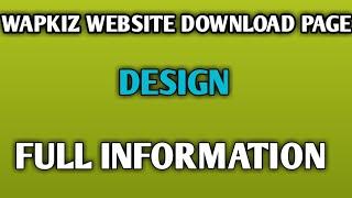 Categorias de vídeos Php wapkiz website desing code
