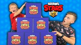 ОТКУДА столько БРАВЛ БОКСОВ?! Кому ДОСТАНЕТСЯ Самый КРУТОЙ BRAWL STARS BOX - Марку или Папе?