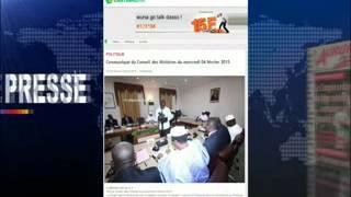 REVUE  AFRICAINE   DU  05 02 2015