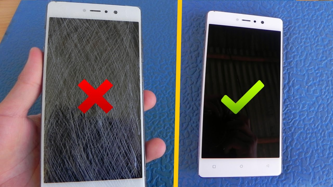 3 ways to remove scratches from phone youtube. Black Bedroom Furniture Sets. Home Design Ideas
