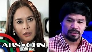 Bandila: Pacquiao admits Jinkee nearly left him; #OneForPacman launched before mega-fight