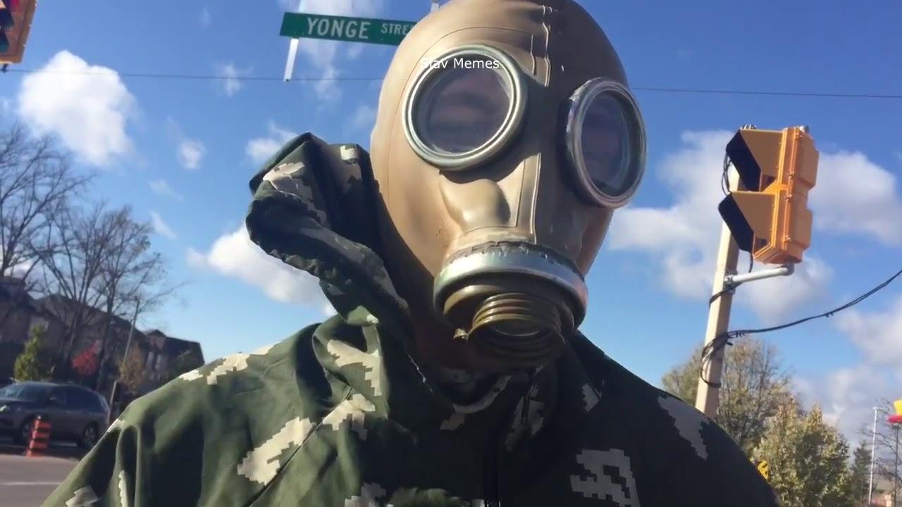 Gas Mask Halloween