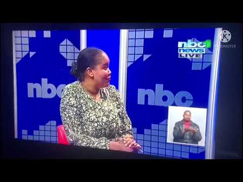Namibia news anchor, Jessica went violent on live tv(NBC)...Jessica we are live.