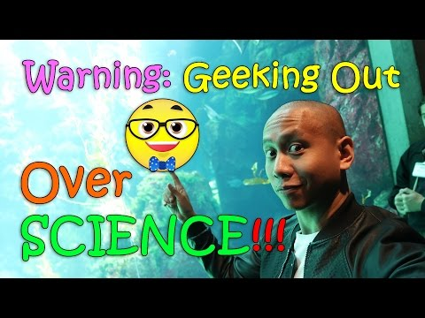 WARNING: Geeking Out Over SCIENCE!!! | March 29th, 2017 | Vlog #68
