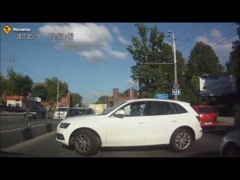 #1 Подборка аварий 2013 - смешные и грустные моменты на дорогах.