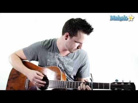 """How To Play """"Thank You"""" By Dido On Guitar (Practice Video)"""