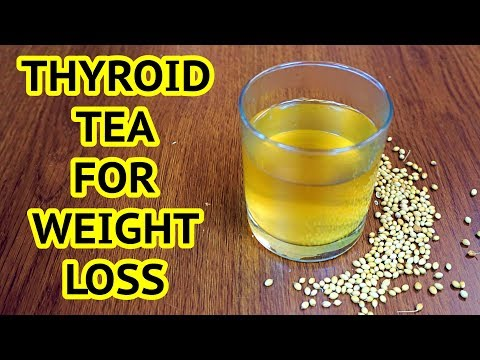 Thyroid Weight Loss Tea Recipe | Get Flat Belly Fast - Lose 5 kgs Without Diet/Exercise
