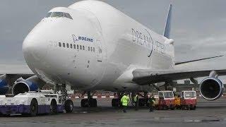 أضخم طائرة في العالم - أضخم طائرة تتسع لـ80 سيارة وطائرة بوينغ - إقلاع أكبر طائرة في العالم