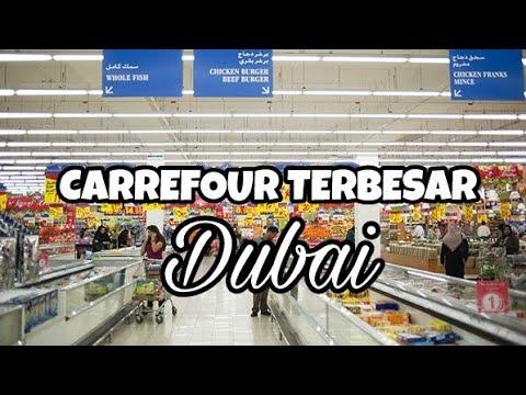 Carrefour Terbesar Di Mal Ke 2 Terbesar Di Dubai Mall Of Emirates