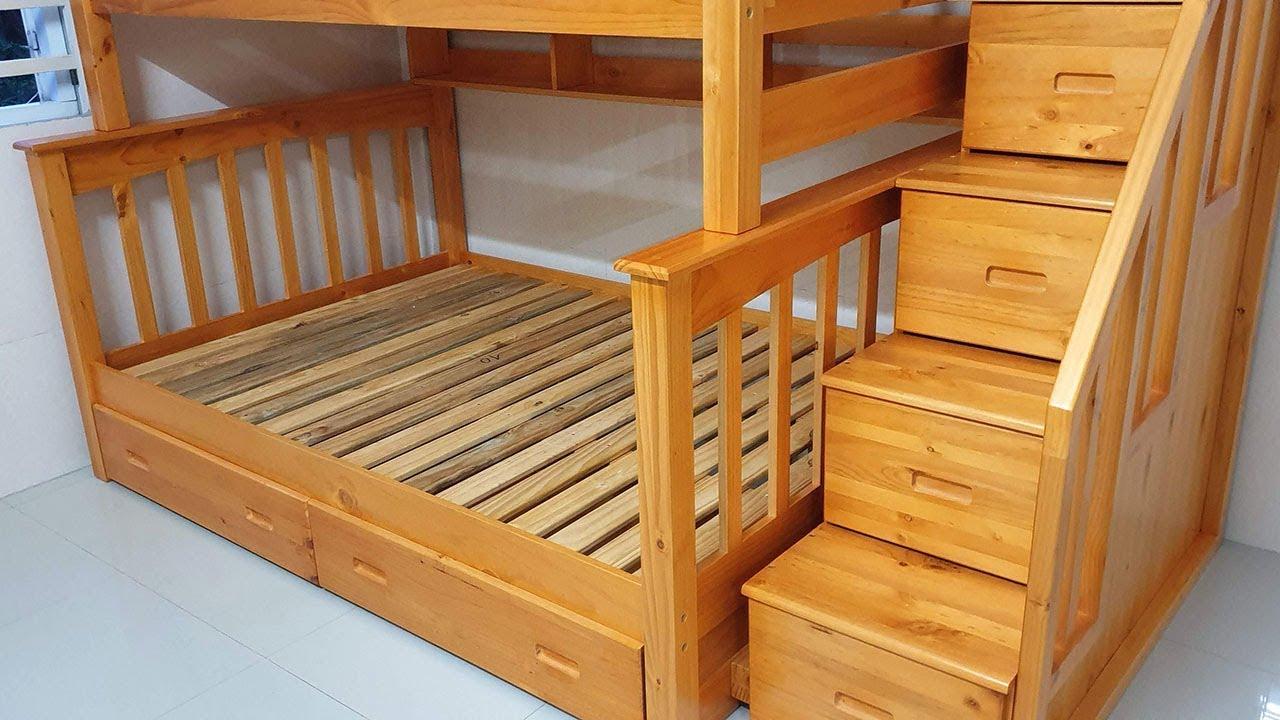 Mẫu giường tầng cho bé trai và bé gái tại Căn hộ Hưng Phát Silver Star, Nguyễn Hữu Thọ, Phước Kiển