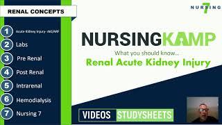 Renal Intro Course Acute Kidney Injury Failure Nursing KAMP