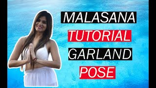 Malasana (Garland Pose) Tutorial   Solution for Constipation , Bloating and Hip stiffness   Poonam
