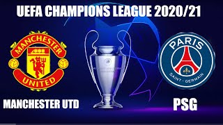 FIFA 21 Manchester United vs PSG UEFA Champions League Today December 2 2020 Full Match