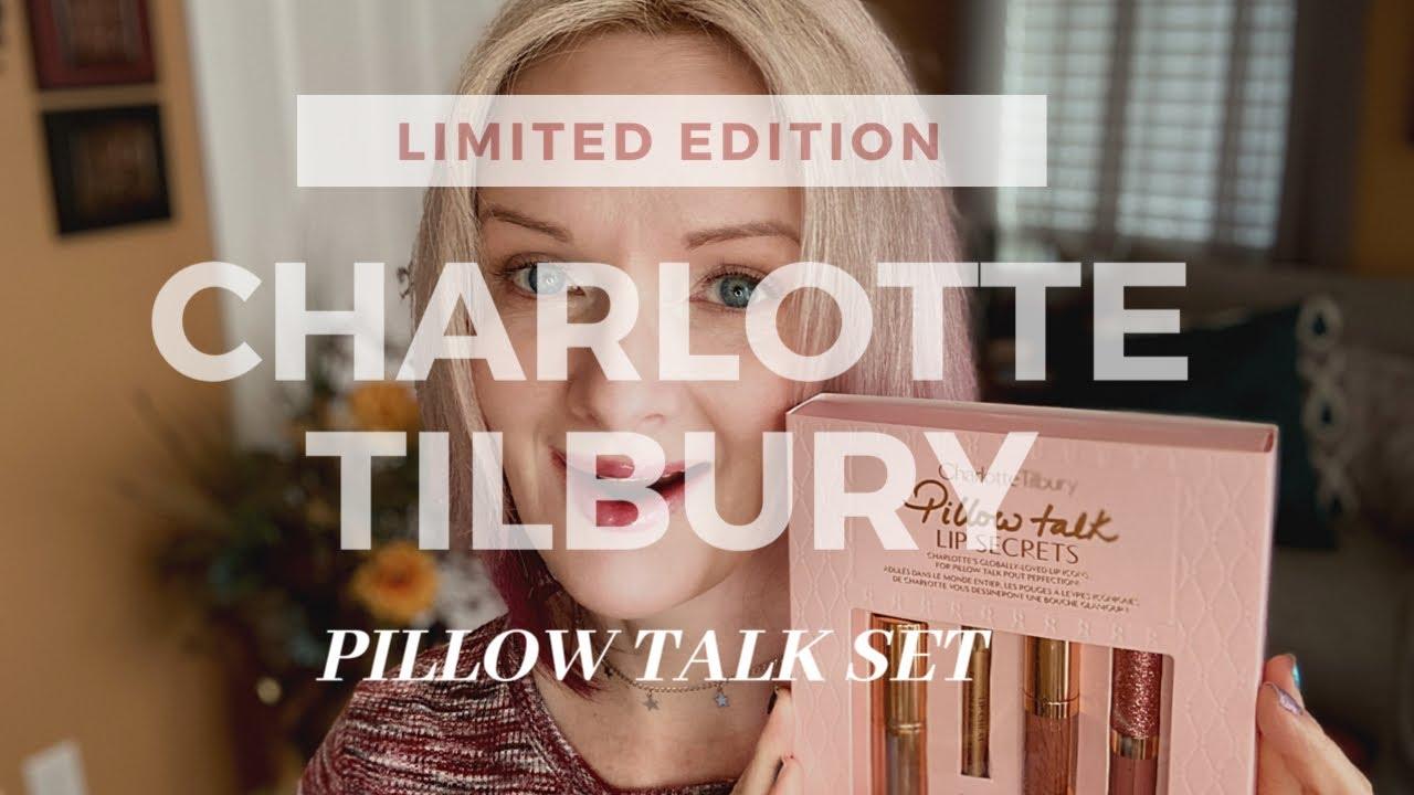 charlotte tilbury pillow talk lip secrets limited edition
