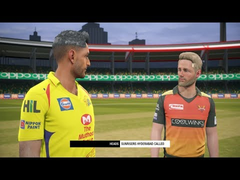 IPL 2020 Match 1 CSK Vs SRH  | In Cricket 19 PC | Live Stream India