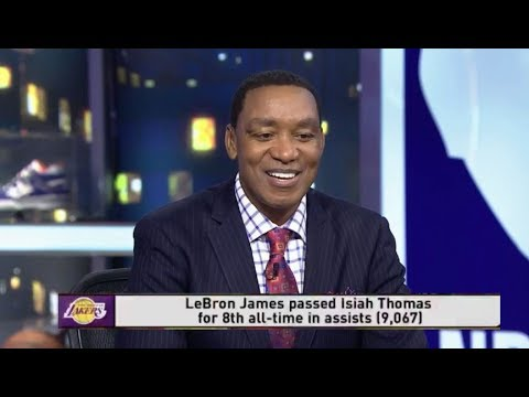 Isiah Thomas Congratulations To LeBron James Passing Him On All-time Assists List