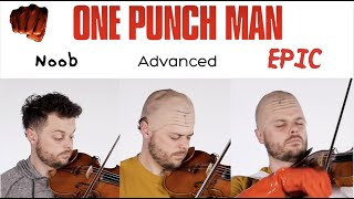 5 Levels of One Punch Man: Noob to EPIC