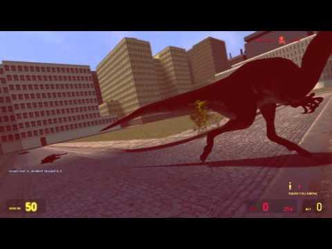 Gmod Dinosaur Attack!