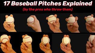 17 Baseball Pitches Explained! C๐py These 4 Pro's PITCHING GRIPS and Dominate Today! ⚾️