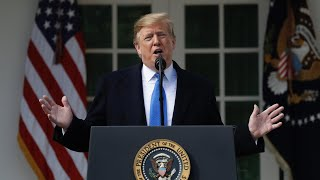 Watch live: President Trump declares national emergency to secure funds for border wall