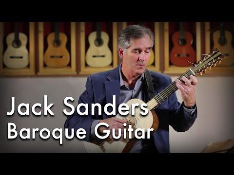 Jack Sanders plays Sanz on Baroque Guitar