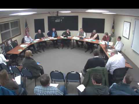 Belgrade School Board Meeting 01-11-16