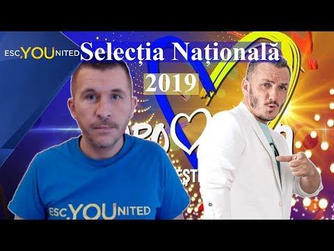 Romania: Selecția Națională 2019 | Songs Reaction & Top 10 (Eurovision 2019)