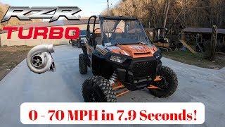 2018 Polaris Turbo RZR XP 0-70 Acceleration