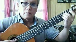 Vết Thù Trên Lưng Ngựa Hoang (Ngọc Chánh, Phạm Duy - ý: Duyên Anh) - Guitar Cover