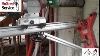 كيف عمل فتحات في الخرسانة باستخدام ماكينة Core Machine حفر الخرسانة او الصبة