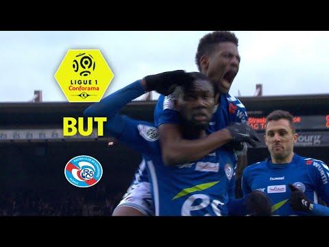 But Jean Eudes AHOLOU (65') / RC Strasbourg Alsace - ESTAC Troyes (2-1)  / 2017-18