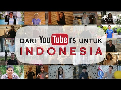 Dari YouTubers untuk Indonesia #UntukIndonesia #DariYouTubers #CameoProject