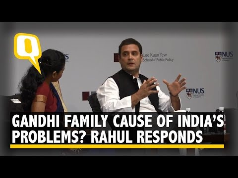 Is Nehru-Gandhi Family Responsible for India's Problems? Here's What Rahul Thinks | The Quint