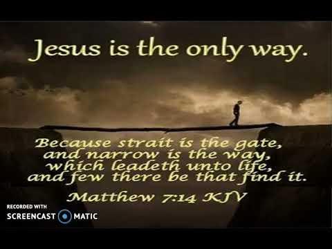 Matthew 7:14 Meaning Is DRASTICALLY Changed When Read In The Original Greek & Hebrew Transcript!