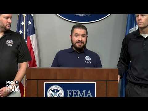 FEMA gives update on Hurricane Michael