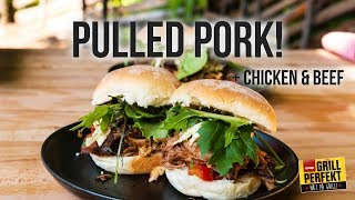 Pulled pork, beef og chicken - slik gjør du det!