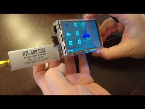 SDR-RTL USB dongle & Raspberry Pi