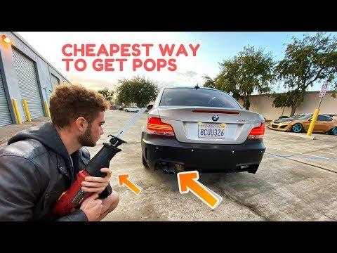 HARBOR FREIGHT MUFFLER DELETE $30 (BMW 128I)