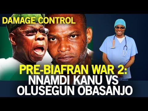 Pre-Biafran War 2: Nnamdi Kanu Vs Olusegun Obasanjo