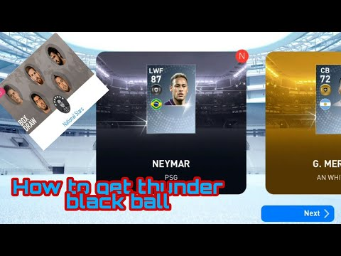 how-to-get-thunder-black-ball-in-national-stars-pes-2019-|-#999gaming