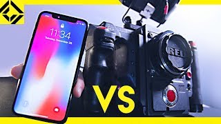 iPhone X vs. Pro Movie Camera