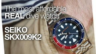 Hands On - SEIKO SKX009K2 - Most Affordable Dive Watch