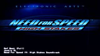 Need for Speed IV Soundtrack - Def Beat
